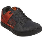 Five Ten Freerider Men's Flat Shoe: Carbon/Active Orange/Gray Five