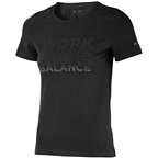 DT Swiss Work-Ride-Balance Women's T-Shirt: Black