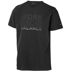 DT Swiss Work-Ride-Balance Men's T-Shirt: Black