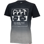 Cult Madness T-Shirt: Black Dip-Dye