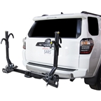 Saris SuperClamp EX 2019 Hitch Rack: 2 Bike Universal Hitch Black