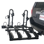 "Hollywood Racks HR4000 Destination 2"" 4-Bike Hitch Rack"