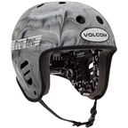 ProTec Full Cut Certified Helmet: Volcom Cosmic Matter MD