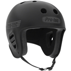 ProTec Full Cut Certified Helmet: Matte Black XL
