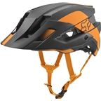 Fox Racing Flux MIPS Helmet: Atomic Orange SM/MD