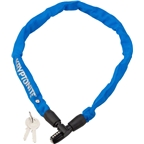 Kryptonite Keeper 465 Chain Lock with Key: 2.13' x 4mm Blue