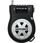Kryptonite R-2 Retractable Combo Cable Lock: 2.95 (90cm)