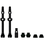 Muc-Off Tubeless Valve Kit: Black, fits Road and Mountain, 60mm, Pair