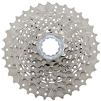 Shimano Claris CS-HG50 Cassette - 8 Speed, 11-34t, Silver, Nickel Plated