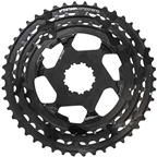 e*thirteen replacement Aluminum Cogs for TRS Plus 11-Speed Cassette, 33-46t, Black - OPEN BOX SPECIAL