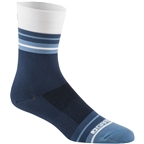 Garneau Conti Long Sock: Black/Navy Blue