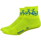 Defeet Aireator 3 Townee Sock: Hi-Vis Yellow