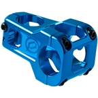 Deity Components Cavity Stem - 50mm, 31.8mm, 0 Degree, Aluminum, Blue
