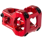 Deity Components Cavity Stem - 35mm, 31.8mm, 0 Degree, Aluminum, Red