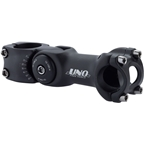 Kalloy 820 Adjustable Stem - 110mm, 25.4mm, 0 Degree, Aluminum, Black