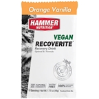 Hammer Vegan Recoverite Drink Mix: Orange Vanilla 12 Single Serving Packets