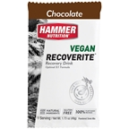 Hammer Vegan Recoverite Drink Mix: Chocolate 12 Single Serving Packets