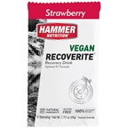 Hammer Vegan Recoverite Drink Mix: Strawberry 12 Single Serving Packets