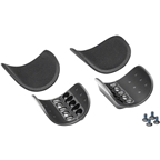 Profile Design Race Injected Armrest Kit: Black