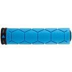 Fabric Silicone Grips - Blue