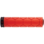 Fabric Silicone Grips - Red
