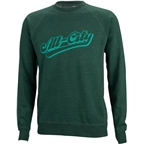 All-City Throwback Crew Sweatshirt: Green