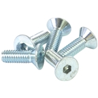 Wheels Manufacturing M4x12 Flat Head Screw, Bag of 5