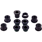 SRAM 5-Arm Hidden Bolt Road Crank Chain Ring Bolt Kit, Steel, Black