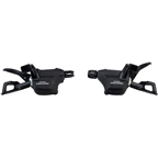 Shimano Deore M6000-I 2/3 x 10-Speed I-Spec II Shift Lever Set, Black