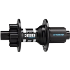 DT Swiss 350 Hybrid Rear Hub: 36h, 12 x 148mm Boost, 6-Bolt Disc, Shimano