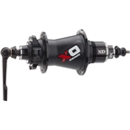 SRAM X0 Rear Disc Hub 28H Black/Red with Axle End Caps for QR and 12x142mm with XD 11/12 Speed Driver Body