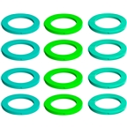 Magura 4-Piston Caliper Colored Cover Kit for one Caliper, Neon Green, Cyan, Mint