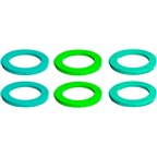 Magura 2-Piston Caliper Colored Cover Kit for one Caliper, Neon Green, Cyan, Mint