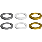 Magura 2-Piston Caliper Colored Cover Kit for one Caliper, White, Gold, Silver