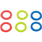 Magura 2-Piston Caliper Colored Cover Kit for one Caliper, Blue, Neon Red, Neon Yellow