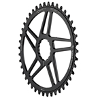 Wolf Tooth Components Powertrac Elliptical Drop-Stop Direct Mount Chainring: 36T, for Easton CINCH Cranks, Black