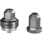 Kryptonite Security Wheelnutz Solid Axle Locking Nuts: Size M9