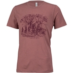 Surly How We Roll Tee Heather Mauve Men's