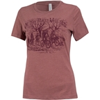 Surly How We Roll Tee Heather Mauve Women's