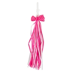 Sunlite Bow Streamers: Pink