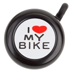 Sunlite I Love My Bike Bell - Black