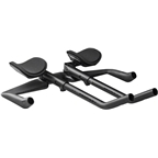 Profile Design Aeria EVO 35a Carbon Aerobar: 42cm, Long 340mm Extension, Ergo Injected Armrest, Matte Black