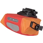 Ortlieb Micro Saddle Bag: Red/Orange