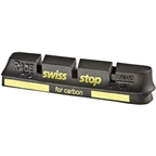 SwissStop RacePro Set of 4 Campagnolo Rim Brake Inserts, Black Prince Compound