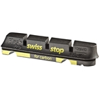 SwissStop FlashPro Set of 4 SRAM/Shimano Rim Brake Inserts Black Prince