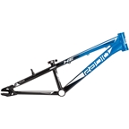 "Radio Helium BMX Race Frame - Mini, 17.6"" TT, Black/Cyan"