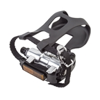 Sunlite SPD Training Bike Pedals, 9/16, Black