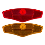Sunlite Wheel Reflector Set, Red/Yellow, Small