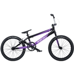 "Radio Xenon Pro BMX Race Bike - 20.75"" TT, Black/Metallic Purple"