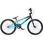 "Radio Cobalt Junior BMX Race Bike - 18.5"" TT, Black/Cyan"